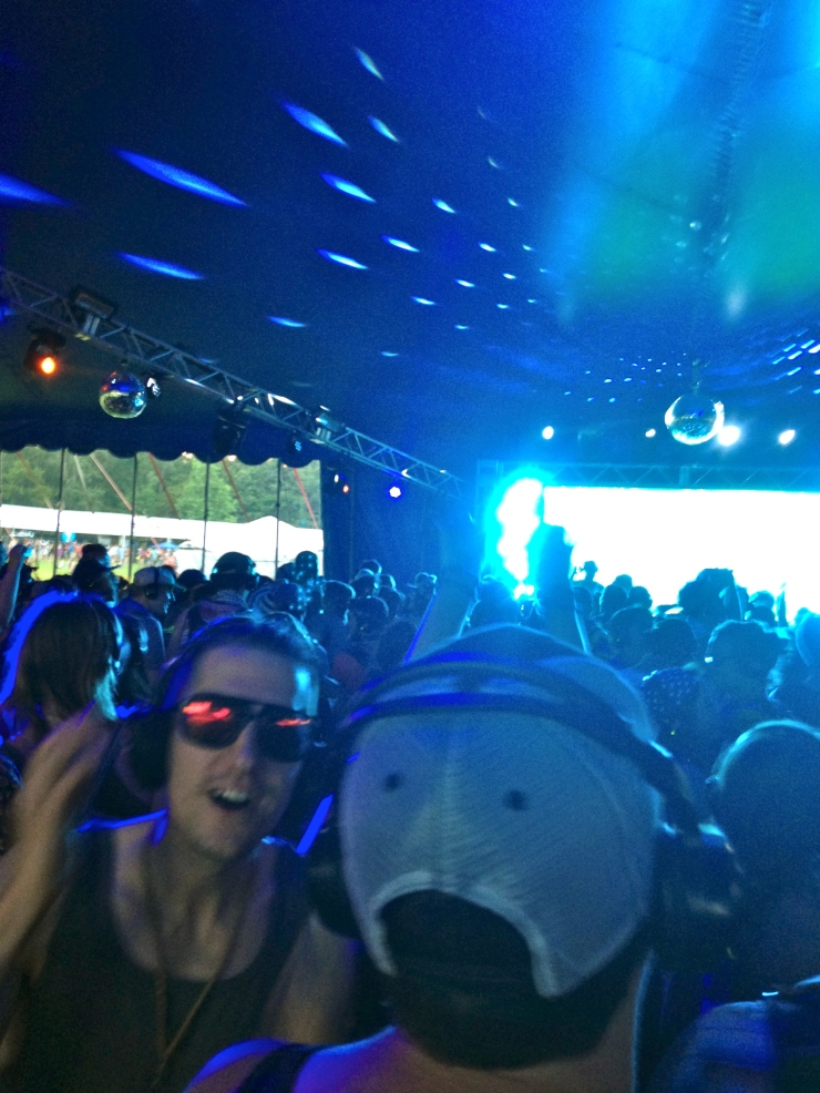 Silent Disco is silent.